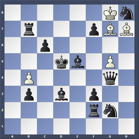 Schach Schachproblem Laszlo