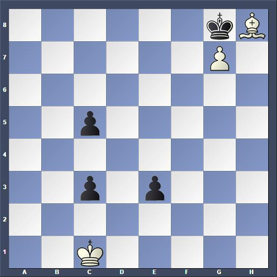 Schach Studie Elekes