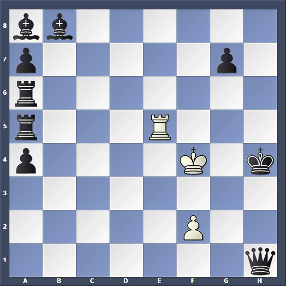 Schach Schachproblem Kramár