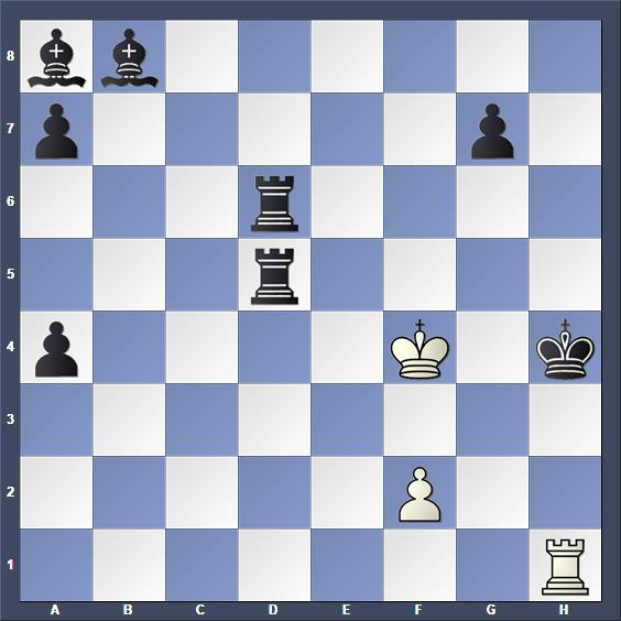 Schach Hilfsmatt Kramár