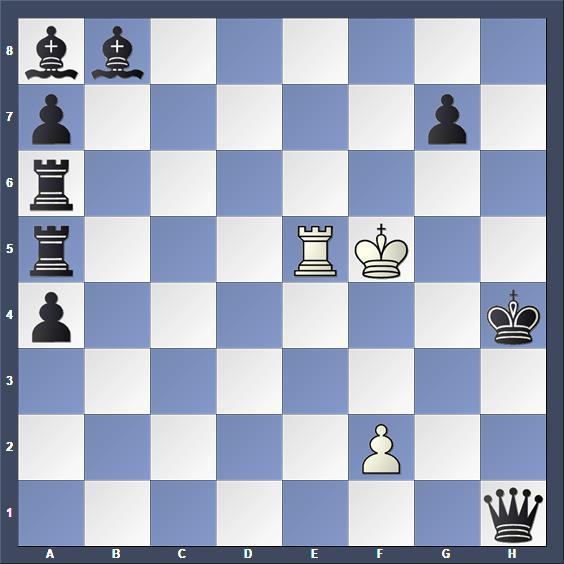 Schach Schchproblem Kramár