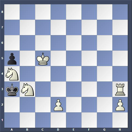 Schach Schachproblem Prokubek