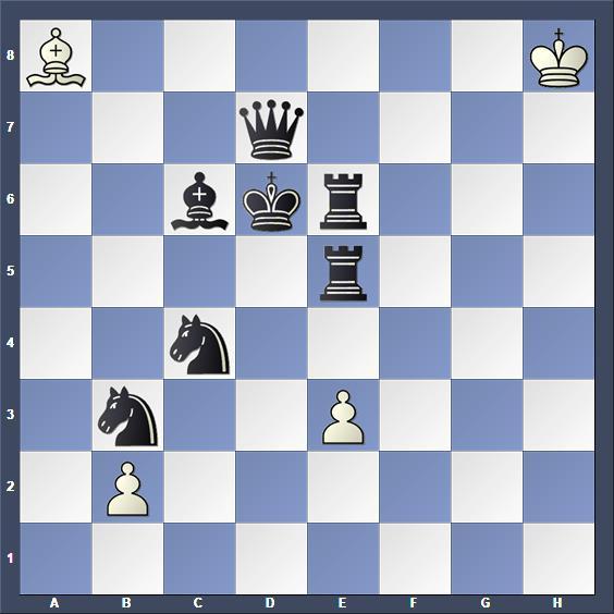 Schach Schachproblem Bily