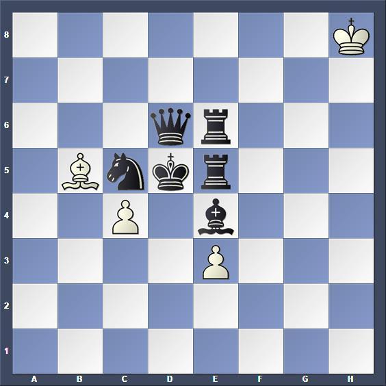 Schach Hilfsmatt Bily