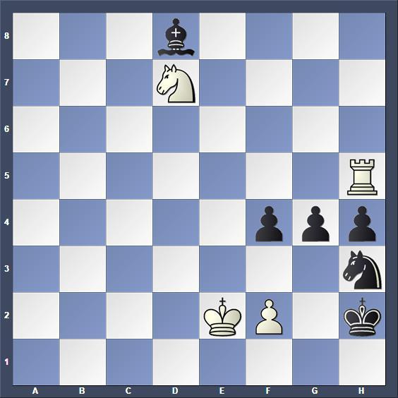 Schach Studie Tavariani
