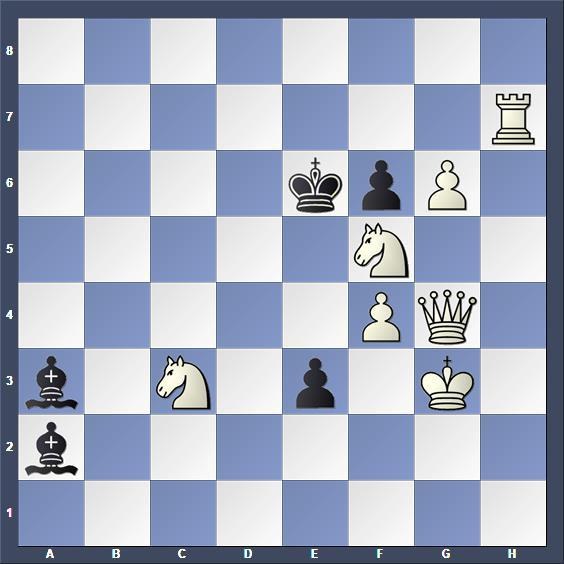 Schach Schachproblem Nievergelt