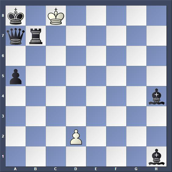 Schach Schachproblem Fiebig