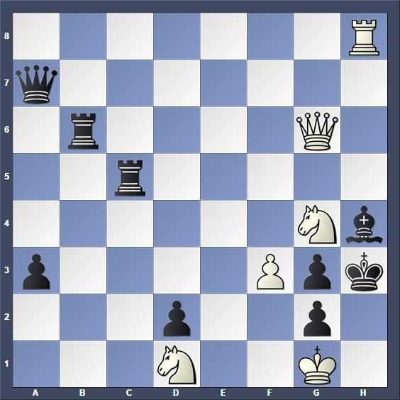 Schach Schachproblem Trifunovic