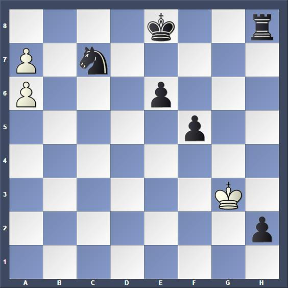 Schach Schachproblem Müller