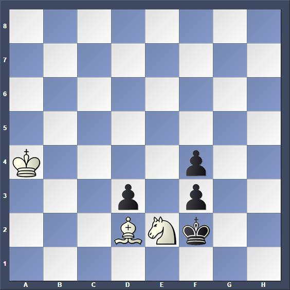 Schach Schachproblem Baló
