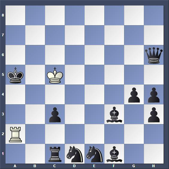Schach Hilfsmatt Seider