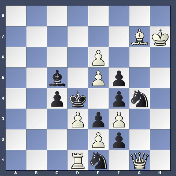 Schach Schachproblem Benedek