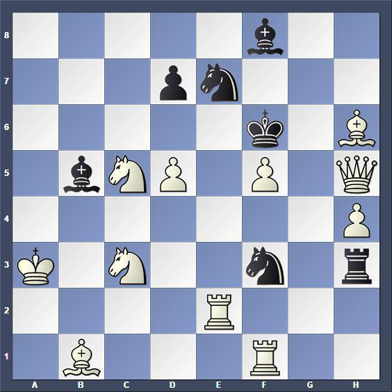 Schach Schachproblem Barulin