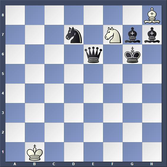 Schach Schachproblem Basalla