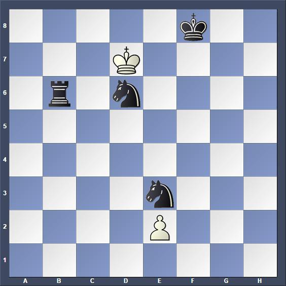 Schach Schachproblem Albert
