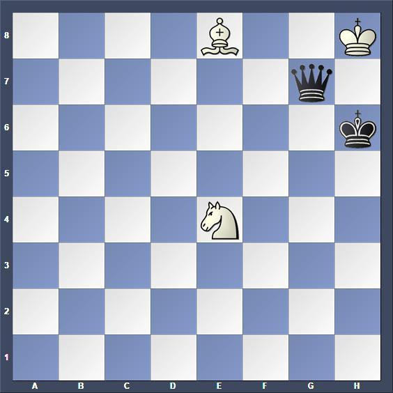 Schach Selbstmatt Iwanow