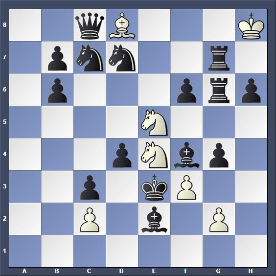Schach Schachproblem Simoni