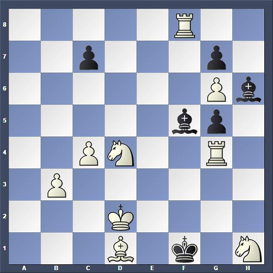 Schach Schachproblem Hildebrand