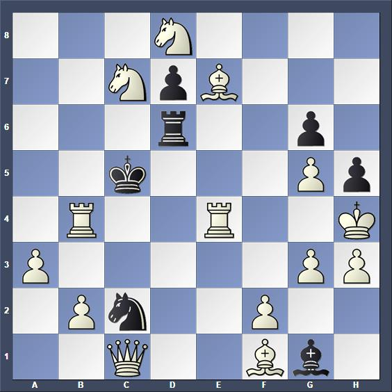 Schach Schachproblem Brown
