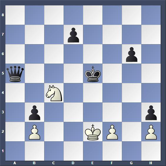 Schach Studie Kubbel