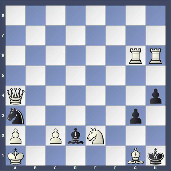 Schach Schachproblem Nemes