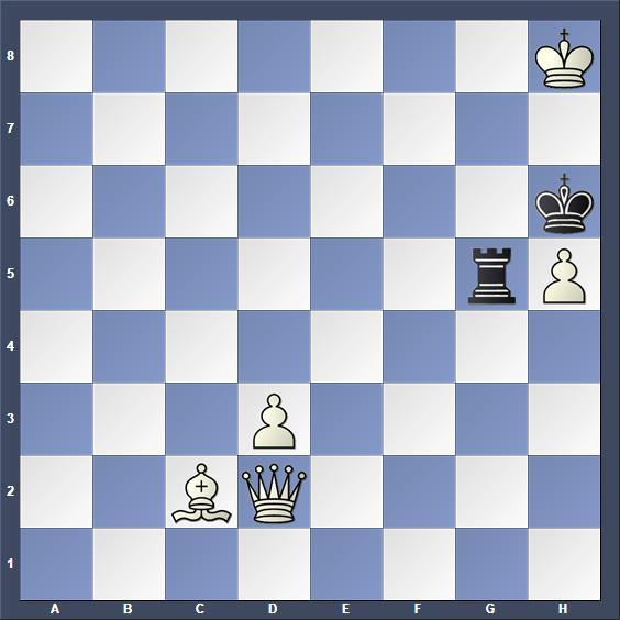 Schach Schachproblem Karge