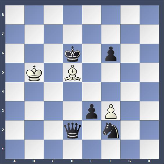Schach Schachproblem Durham