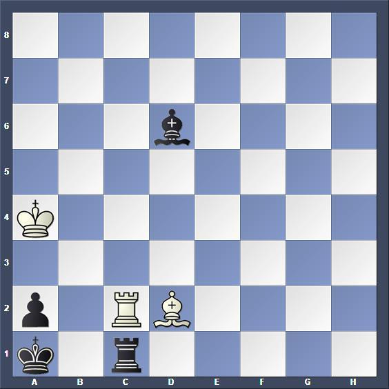 Schach Studie Lazard