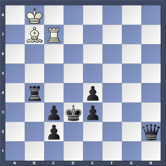 Schach Schachproblem Dragoun