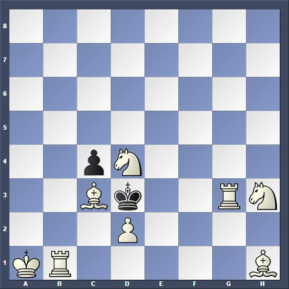 Schach Schachproblem Achbar
