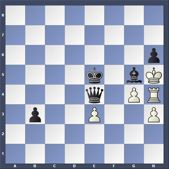 Schach Studie Saizew