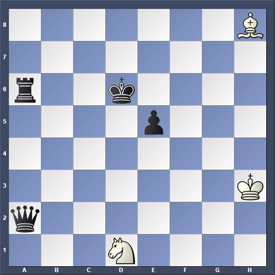 Schach Schachproblem Dudtschenko
