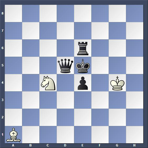Schach Hilfsmatt Dudtschenko