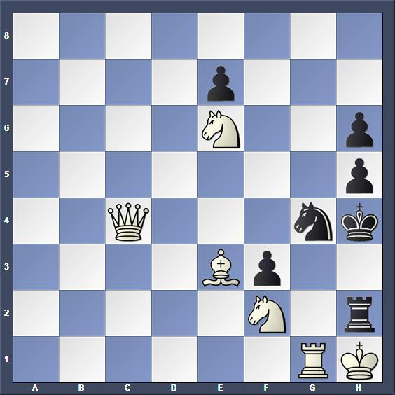 Schach Selbstmatt David