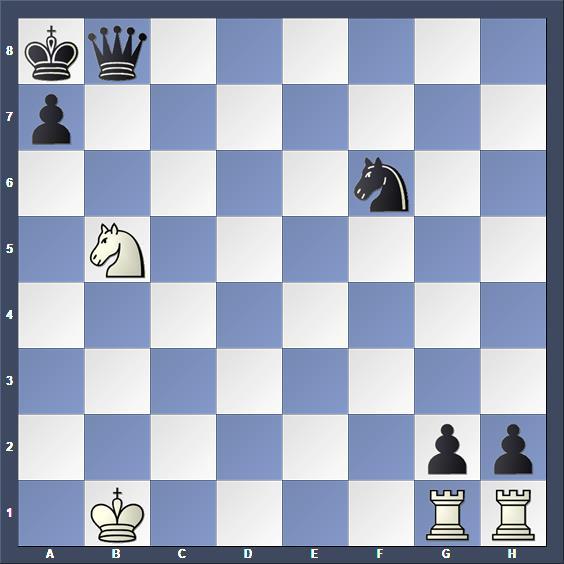 Schach Schachüroblem Csák