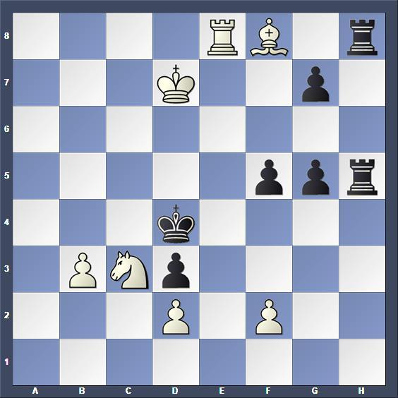 Schach Schachproblem Zucker