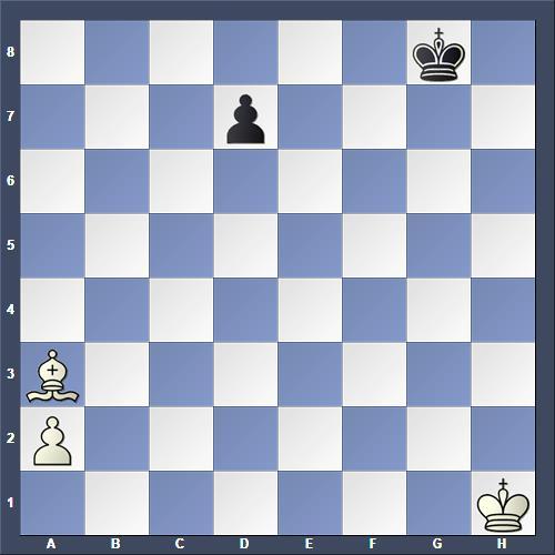 Schach Studie Duras