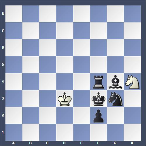 Schach Hilfsmatt Henrych