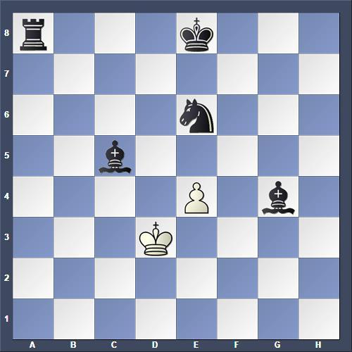 Schach Schachproblem Koistinen