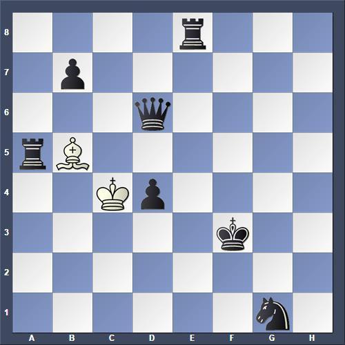 Schach Schachproblem Beal