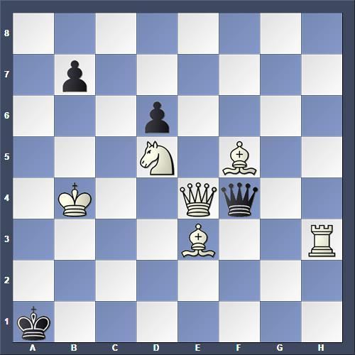 Schach Schachproblem Ritter