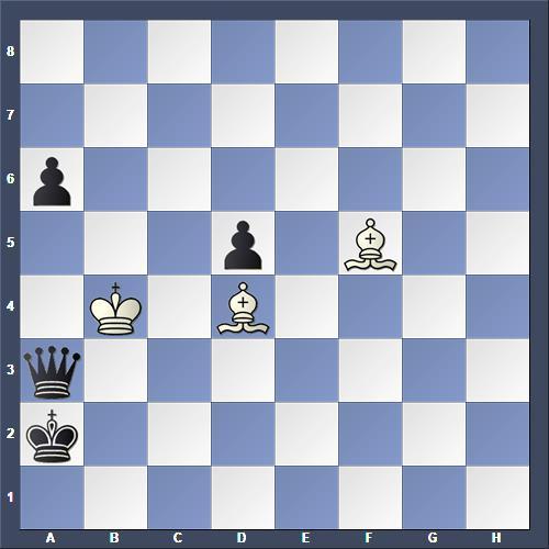 Schach Selbstmatt Ritter