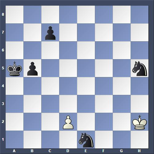 Schach Schachproblem Kárpáti