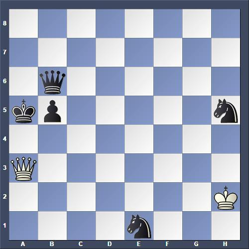 Schach Hilfsmatt Kárpáti