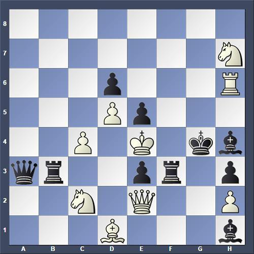 Schach Schachproblem Cuppini
