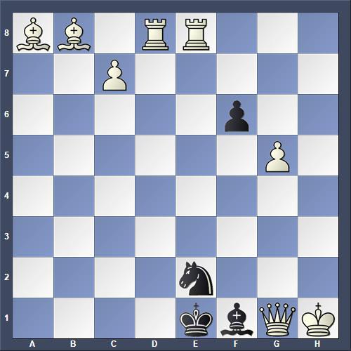 Schach Schachproblem Stein