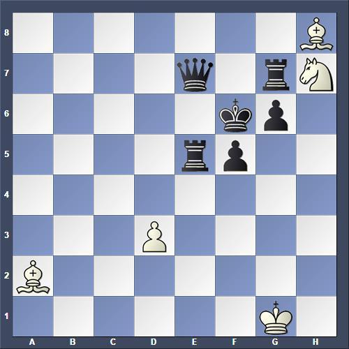 Schach Hilfsmatt Petite