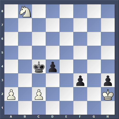 Schach Studie Kralin