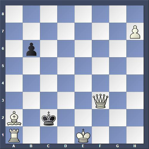 Schach Schachproblem Heiskanen