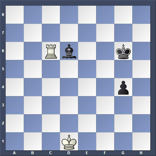 Schach Studie Rjabinin
